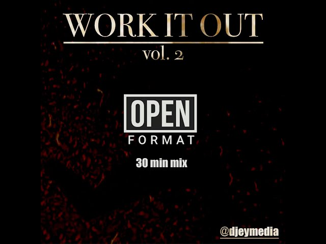 Workout Mix Work It Out Vol 2 Open Format