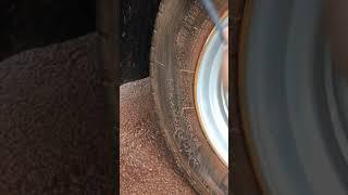Tyre wash dengan soda