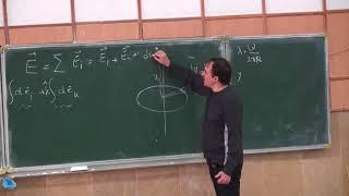 فیزیک ۲ - محمدرضا اجتهادی - صنعتی شریف - جلسه سوم - میدان حاصل از توزیع بار. انرژی پتانسیل دوقطبی