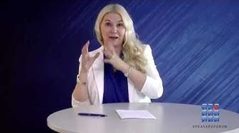 Menestyksen jäljillä  - Johtajuus ja mielenhallinta - Helena Åhman -Speakersforum