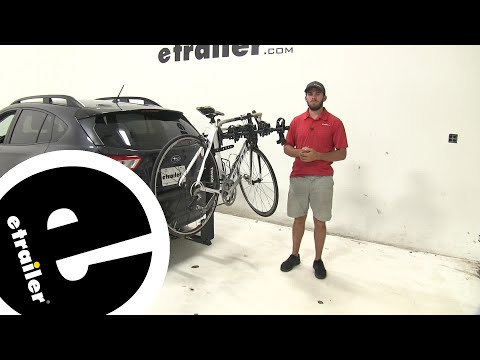 Thule Hitching Post Pro Hitch Bike Racks Review - 2019 Subaru Crosstrek - etrailer.com