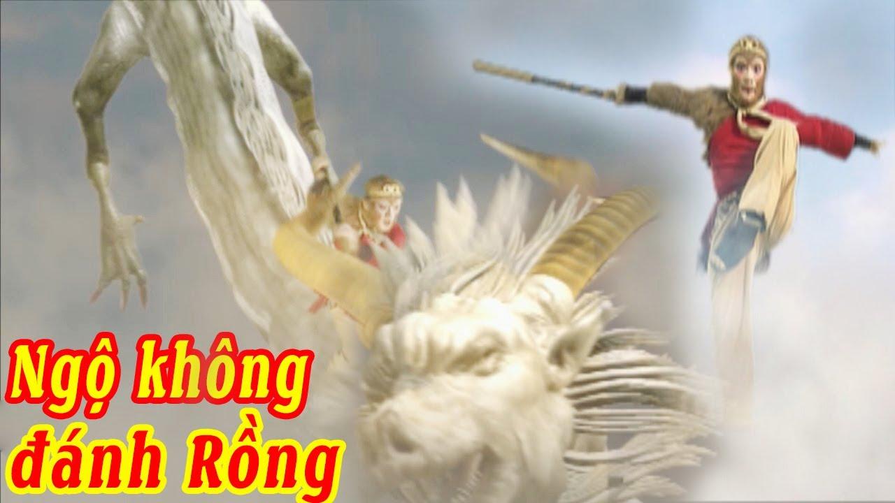 Ngộ Không Đánh Bại Con Rồng Thế Nào | Thu Phục Tiểu Bạch Long