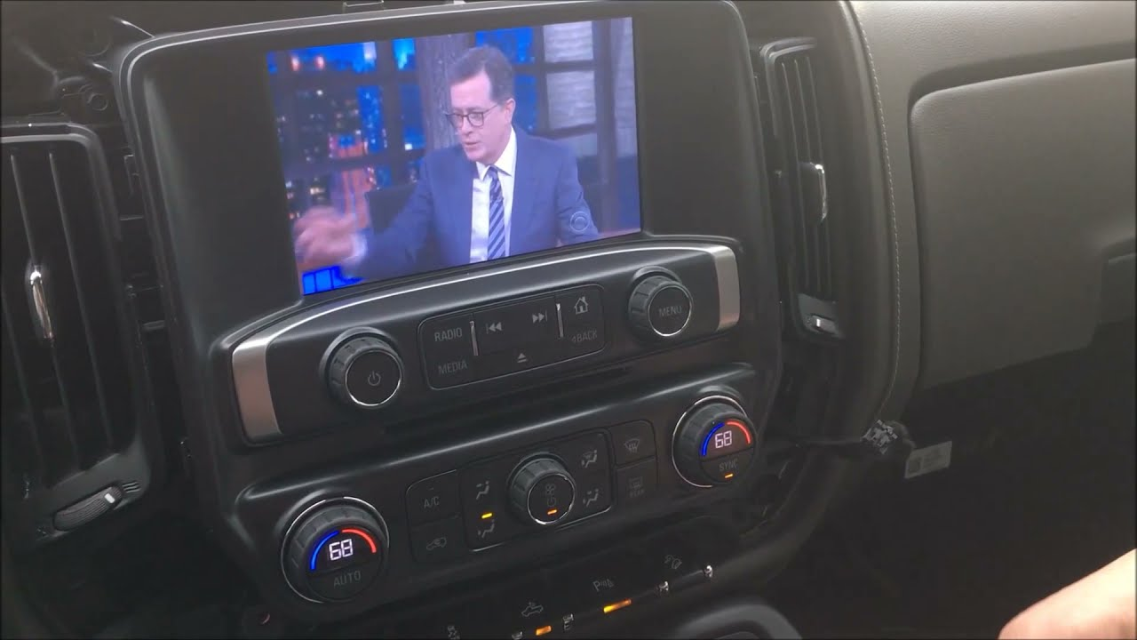 2014 - 2018 GMC Sierra - Chevy Silverado Factory Navigation Upgrade with  360 Camera AV Module - HDMI