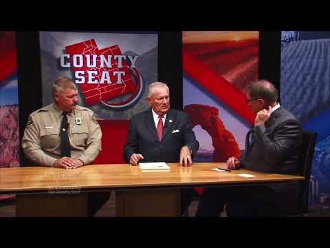 The County Seat   Discussing Utah Sheriff's Association