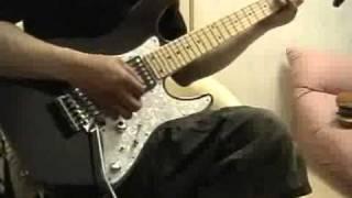 Arch Enemyのvulturesを弾いてみました。クリスパートを弾いたつもりで...