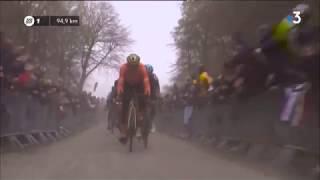 Paris-Roubaix : revivez le passage de la tranchée d'Arenberg