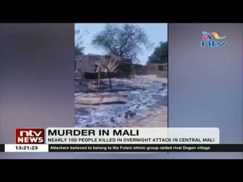 Nearly 100 people killed in overnight attack in Central Mali