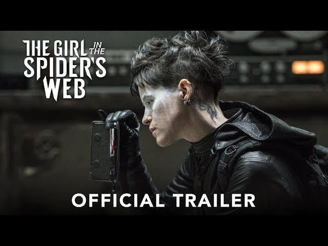 THE GIRL IN THE SPIDERS WEB - Official Trailer (HD)