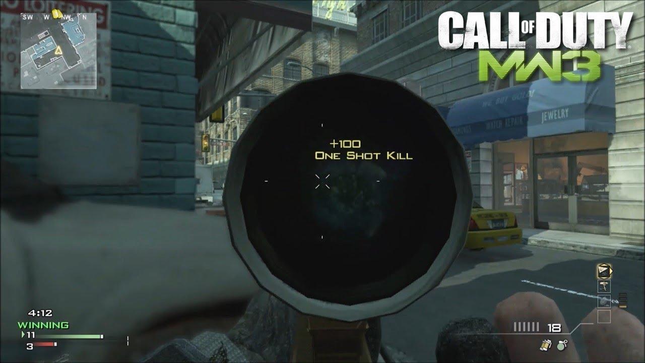 Sniper 1v1 on MW3!!!