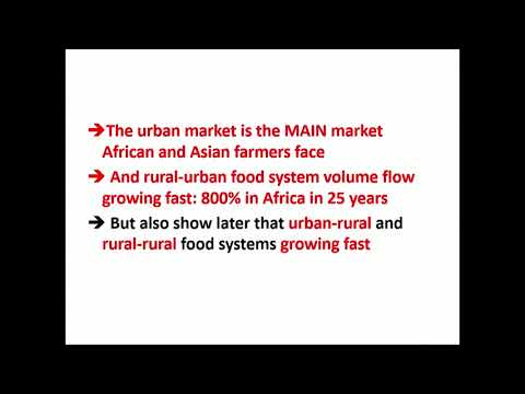 The Quiet Revolution in Food Systems (Dr. Tom Reardon)