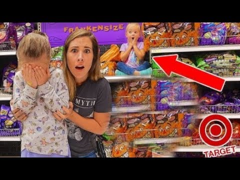 LOST HER SISTER IN TARGET! 😩 EXTREME HIDE and SEEK!