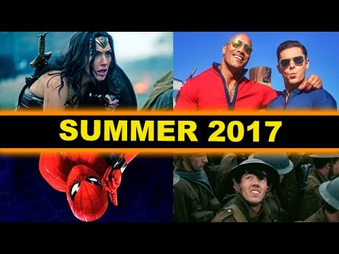 Summer Movies 2017 – Spider-Man Homecoming, Baywatch, Guardians of the Galaxy 2, Despicable Me 3