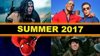 Summer Movies 2017 - Spider-Man Homecoming, Baywatch, Guardians of the Galaxy 2, Despicable Me 3