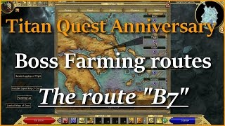 Titan Quest Boss Farming The Route \