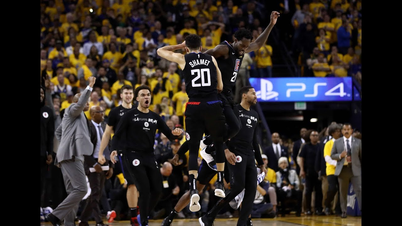 Landry Shamet Hits Clutch Game-Winning Jumper, Warriors Blow 31-Point Lead to Clippers in Game 2