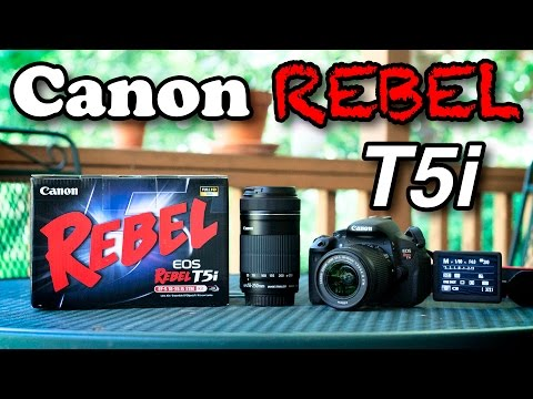 Canon Rebel T5i (700D) Unboxing and Setup