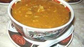 Moroccan Soup Harira - الحريرة المغربية  بالطريقة الأصيلة - Soupe Marocaine -harira