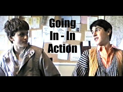 Going In - In Action (1986) - Directed by Alexander Hall (also Writer/Producer)