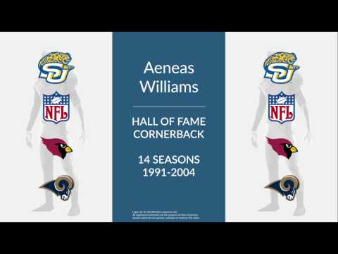 Aeneas Williams Hall of Fame Football Cornerback and Free Safety