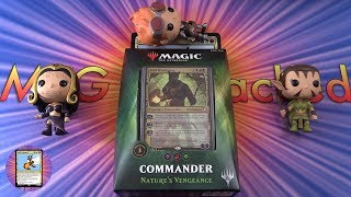 Commander 2018: Nature's Vengeance unboxed