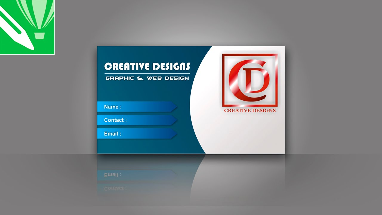 Business card design in coreldraw tutorial youtube business card design in coreldraw tutorial reheart Choice Image