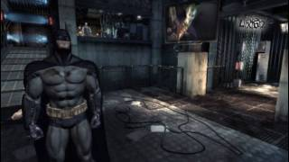 Batman Arkham Asylum Demo Gameplay 1/2 [PC]