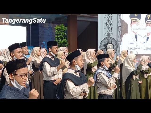 Hari Santri, Wali Kota Tangerang Ajak Kiayi dan Santri Sukseskan Vaksinasi