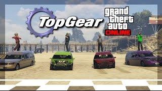 GTA Online - Top Gear Challenge #2 - (Funeral Car Race!)