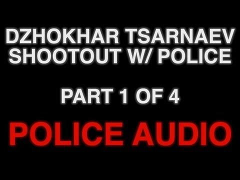 POLICE AUDIO Pt 1: Shootout With Dzhokhar Tsarnaev Suspect #2 In Watertown/Boston