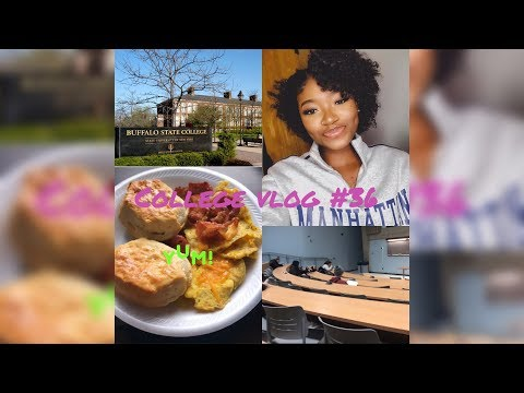 A Week In My Life At Buffalo State| College Vlog #36