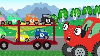 Автовоз - Тыр Тыр Трактор – Песенки для детей
