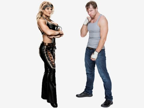 Beth Phoenix vs Dean Ambrose -Elevated Chickenwing Facebuster