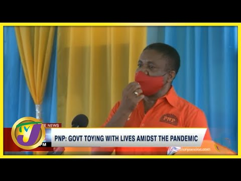 PNP: Gov't Toying with Lives Amidst the Pandemic   TVJ News - August 22 2021
