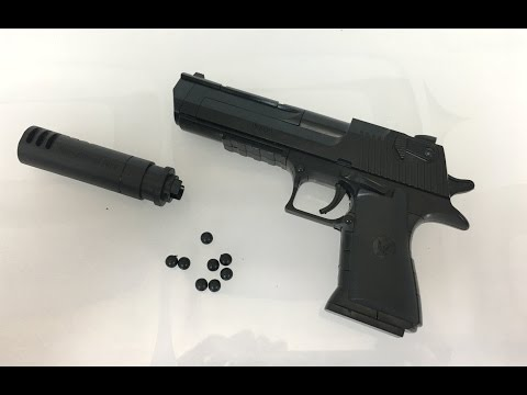 Desert Eagle Bricks Toy Gun That Shoot streaming vf