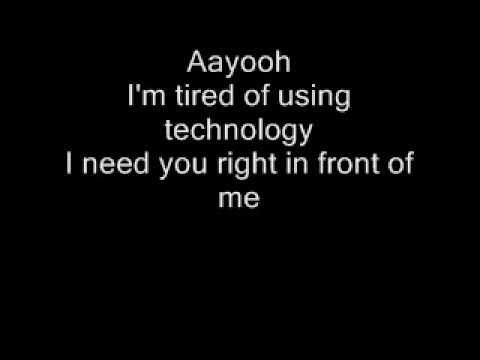 Milow Ayo Technology Lyrics