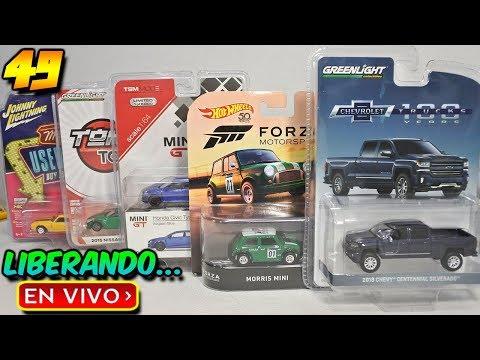 Liberando Hot Wheels, greenlight, Johnny Lightning y TSM Model Mini GT Episodio 49