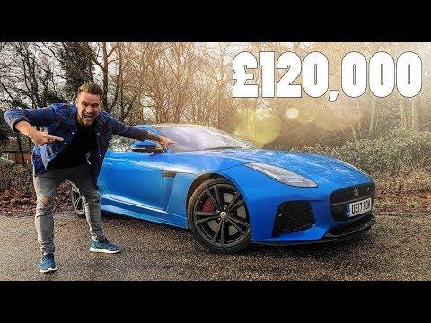 LIVING WITH THE £120,000 JAGUAR F-TYPE SVR!!