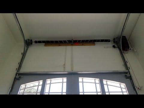 High Lift Garage Door Track System Demo