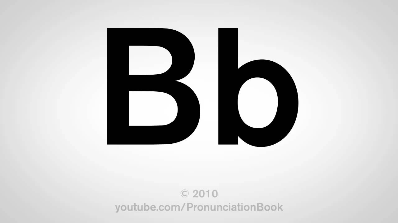 ��/�B�_BasicEnglish:HowtoPronouncetheLetterB-YouTube