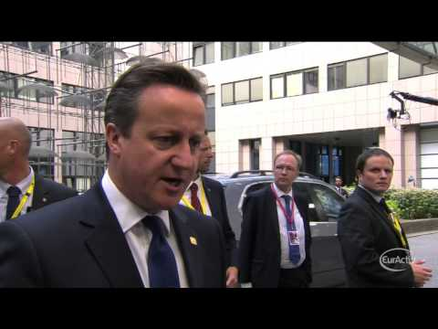 "Cameron: Juncker's election as Commission president is ""profoundly wrong"""