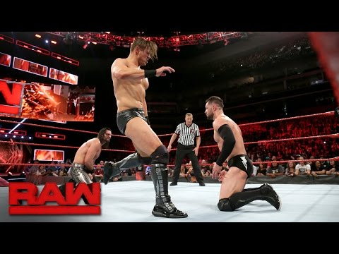 Seth Rollins vs Finn Bálor vs The Miz - Intercontinental Title #1 Contenders Match: Raw, May 1, 2017