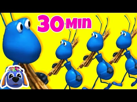 Ants Go Marching One By One | Nursery Rhymes | Songs for Children | Raggs TV