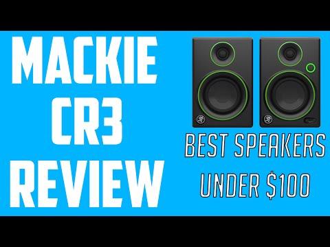 Mackie CR3 Multimedia Monitors Review (Best Speaker Under $100)