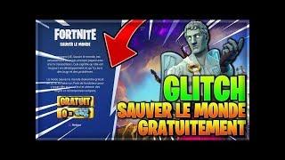 (EXCLU MONDIALE) GLITCH AVOIR SAUVER LE MONDE GRATUITEMENT SUR PS4 ! | Fornite FR 2018 (PATCH)