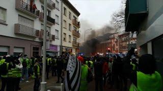 """""""Gilets jaunes"""": des débordements à Lorient"""
