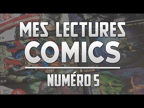 MES LECTURES COMICS #5 : MARS 2017 (1/2)