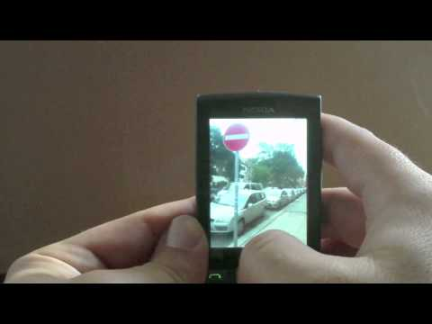 Nokia X3-02 Touch & Type menu overview