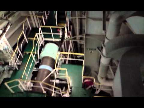 Ship Engine Room visit