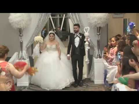 Morris & Dimeana  wedding Entrance  Sep/16/2017
