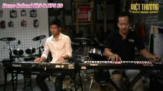 Đàn Organ Roland BK5 & XPS10 - Khóc thầm